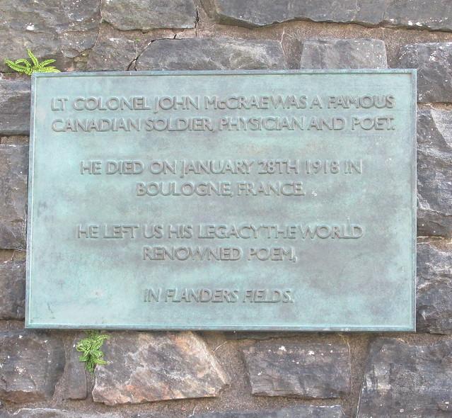 John Macrae Memorial, Eilean Donan Castle