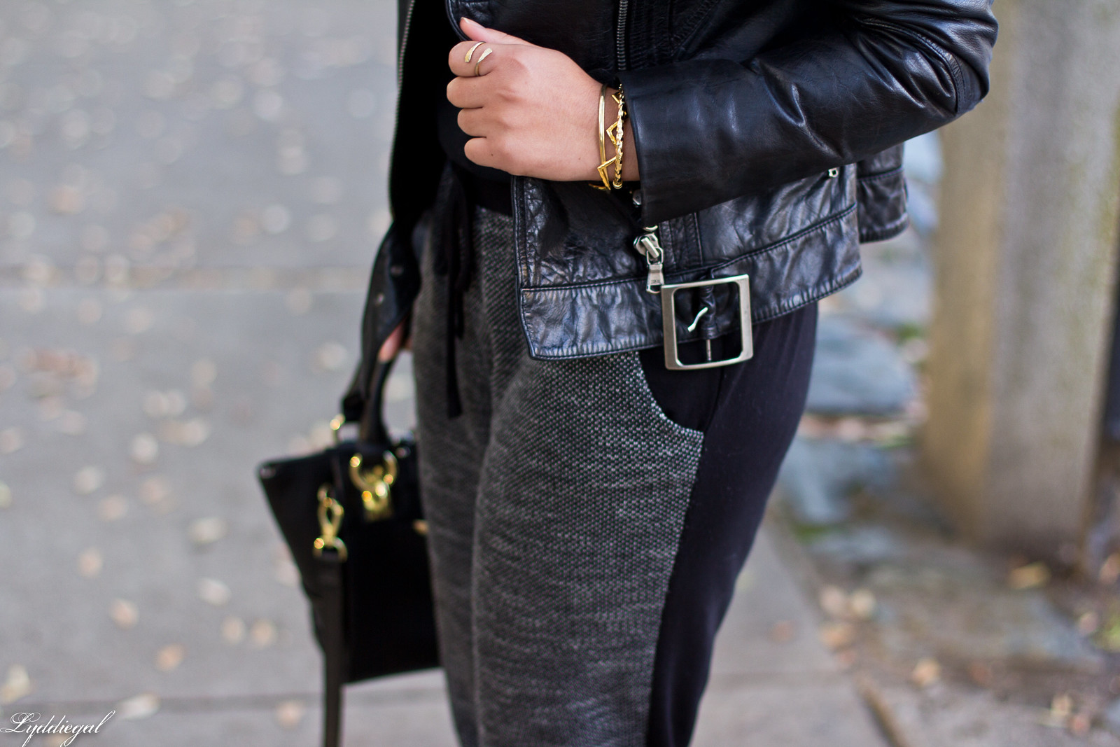 leather moto jacket, joggers, leopard pumps-7.jpg