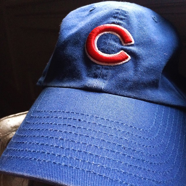 So tired. So happy. #gocubsgo #flytheW #partylikeits1908 #marriedintoit