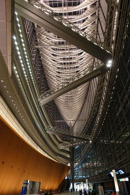 std. Tokyo International forum glass