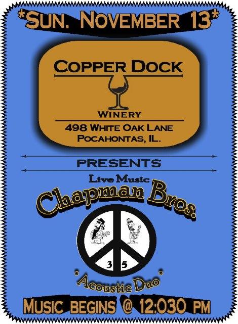 Chapman Bros 11-13-16