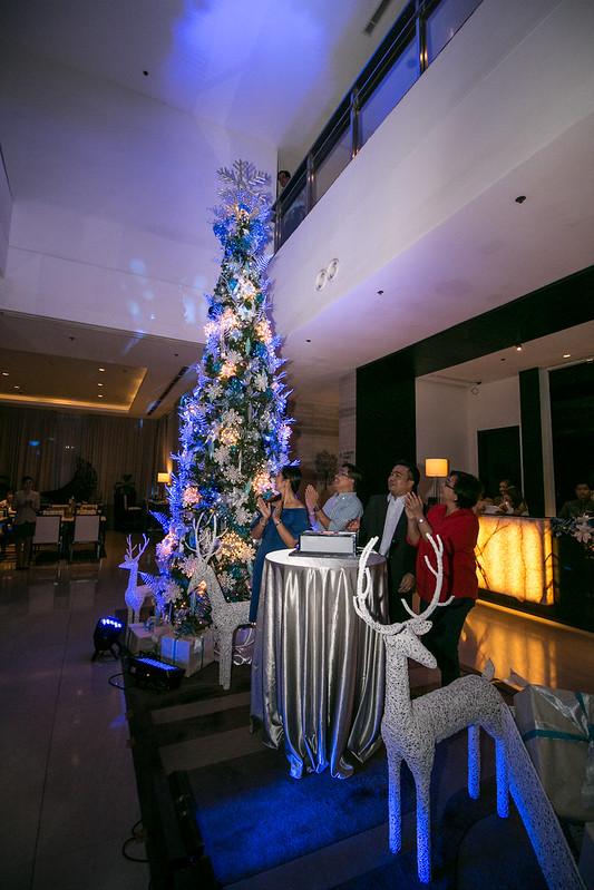 ADOS Kathy Namuag, RD Robby Alabado, Councilor Bernie Al-ag, and CTOO Generose Tecson does the ceremonial tree lighting (2)