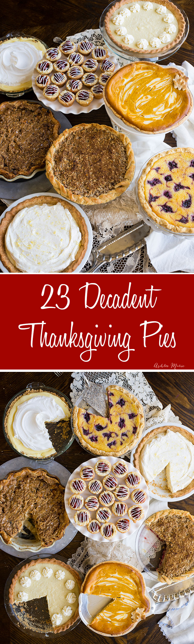 23 of the most amazing pie recipes - something for everyone!