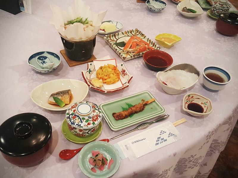 Kaiseki dinner Kyoto