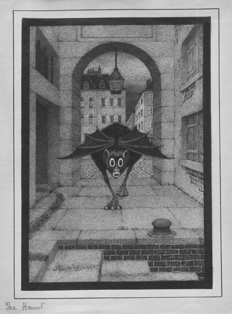 Herbert E. Crowley - The Haunt, 1920's