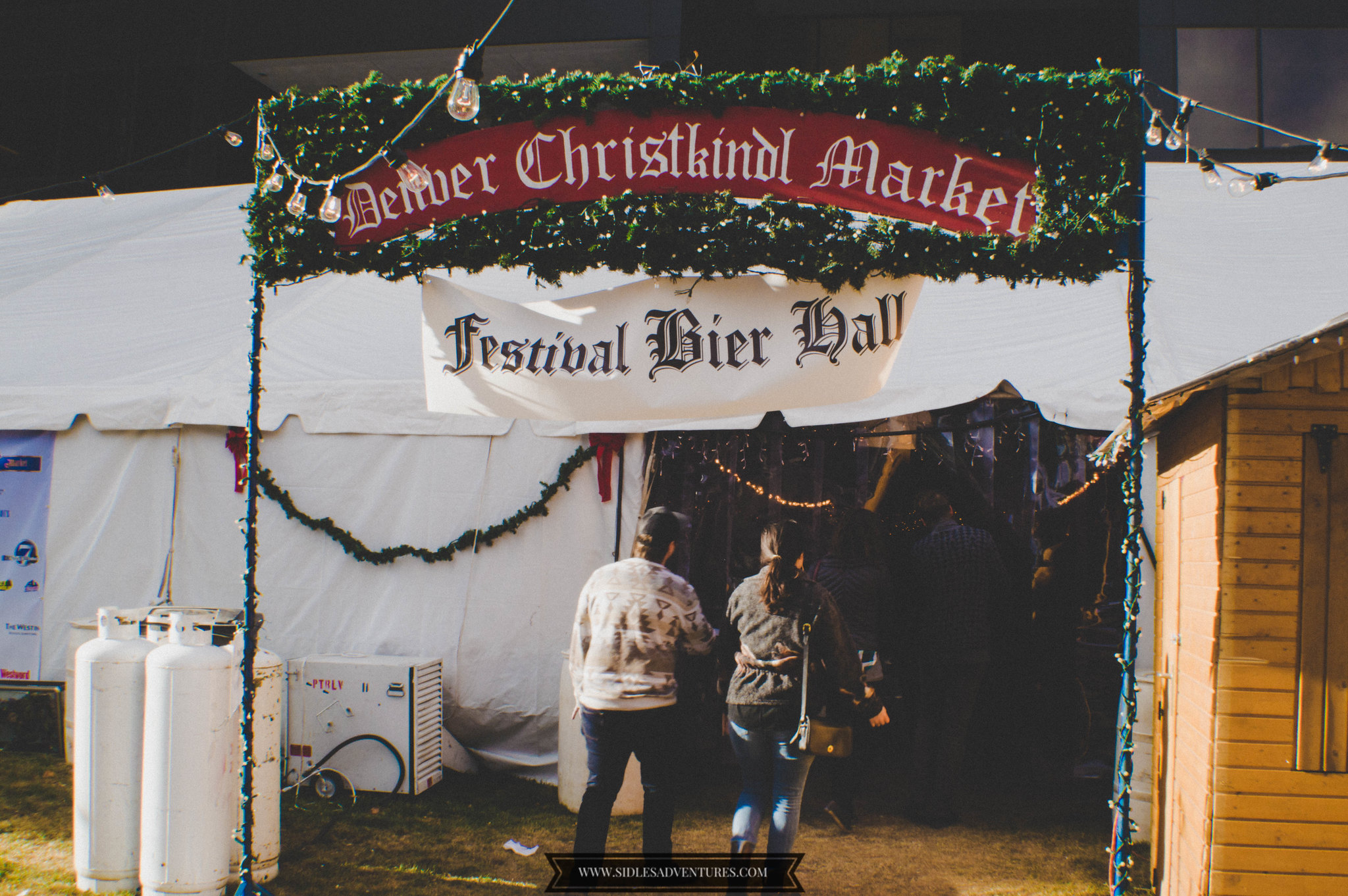 they also sell german beer in the tent as well but christmas markets are for glhwein fyi inside the tent is cash only there are atms in the market