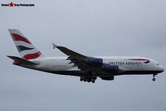 G-XLEJ - 192 - British Airways - Airbus A380-841 - Heathrow - 161127 - Steven Gray - IMG_6487