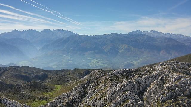 Hacia los Picos de Europa