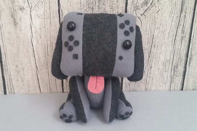 stuffed stuff: Nintendo Switch dog