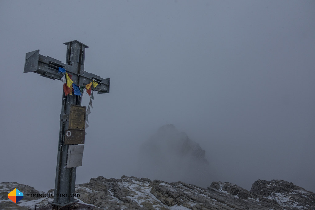 Until you stand in the clouds at the summit