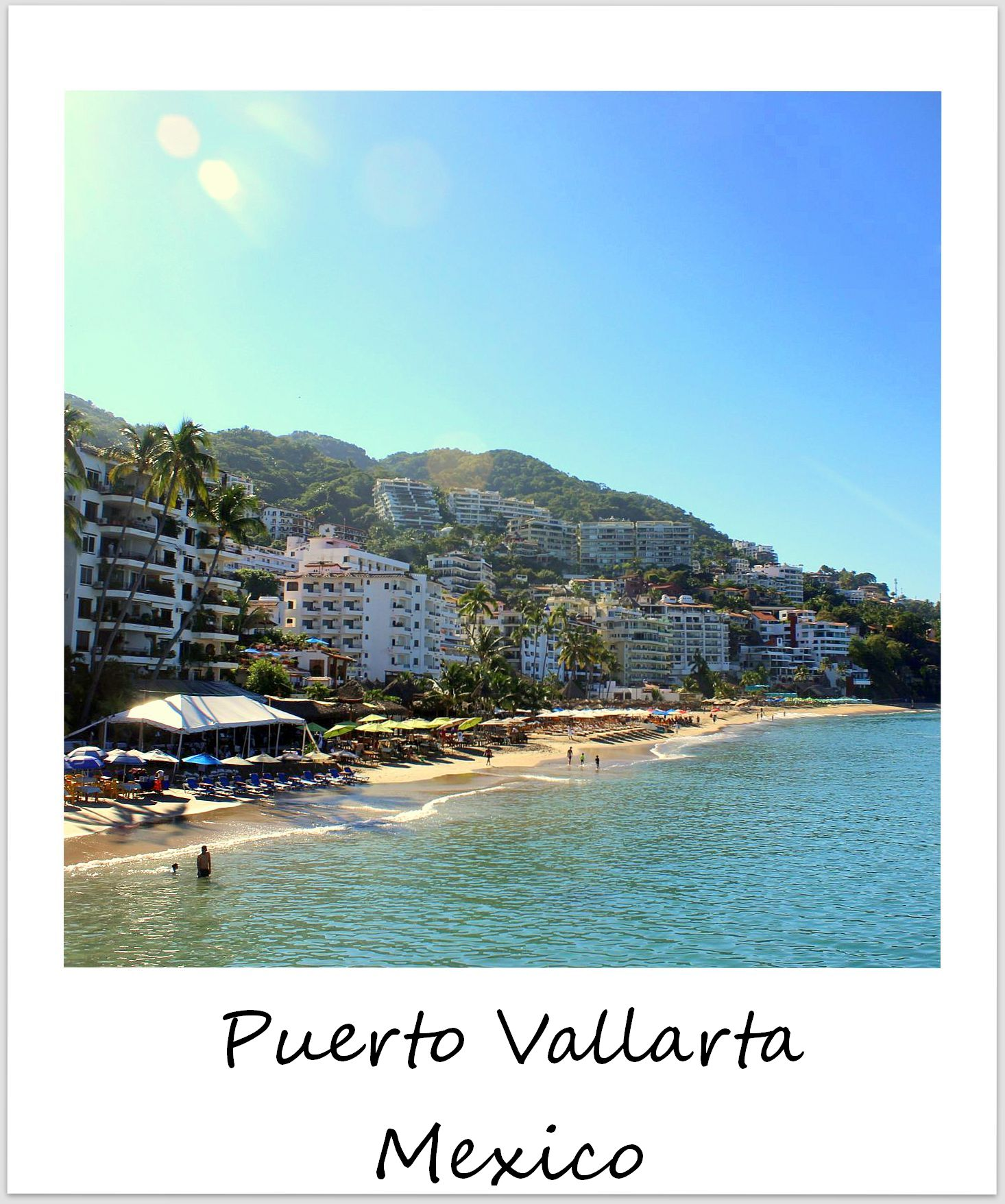 polaroid of the week mexico puerto vallarta