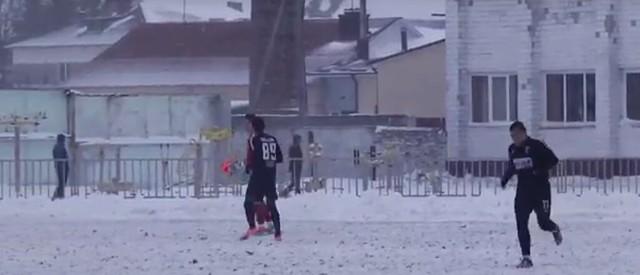 Сніг та рожевий м'яч принесли «Вересу» перемогу