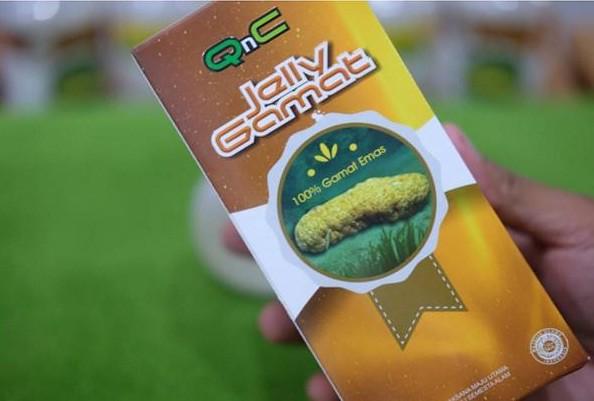Kandungan Lengkap QNC Jelly Gamat