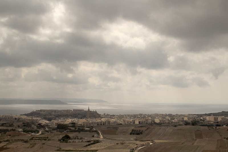 The World In My Pocket - Trip to Gozo - View over Malta and Comino, from Gozo