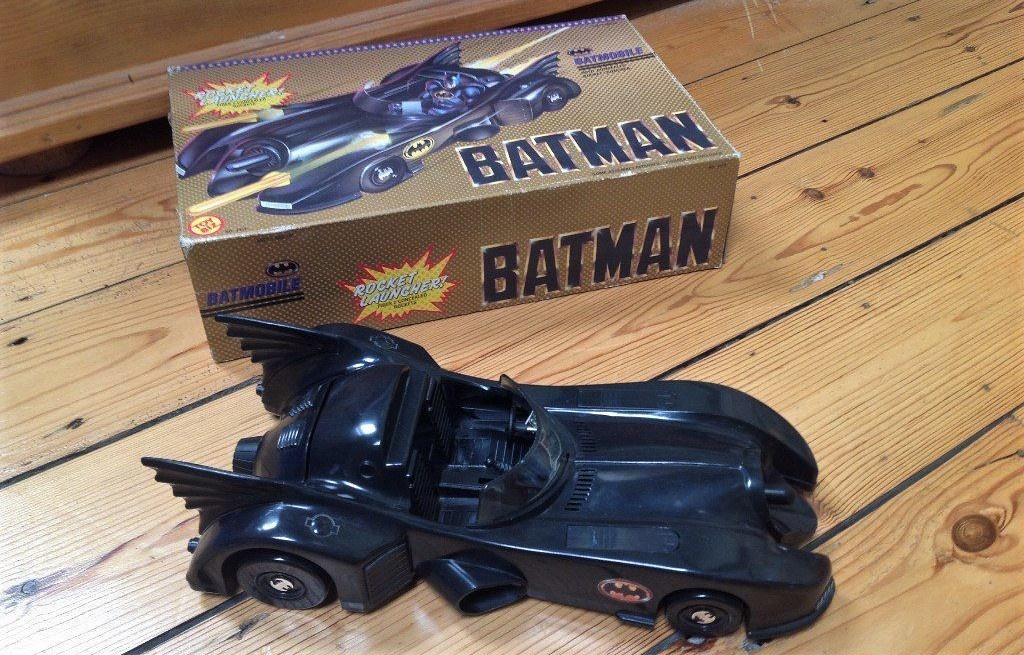 #Fave80sCar Batman 1989 ToyBiz Batmobile