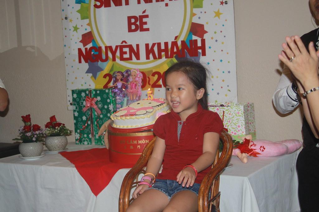 Sinh nhật bé Nguyên Khánh 25/09/2016