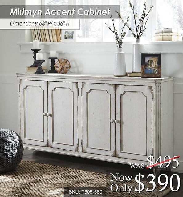Mirimyn Accent Cabinet T505-560