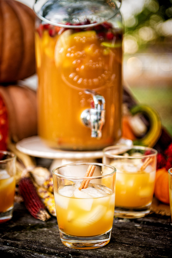 Autumn Harvest Sangria {Pass the Sushi}