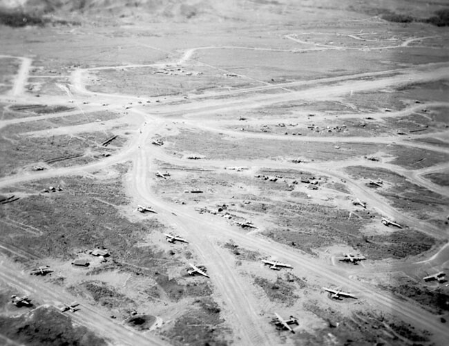 22BG B-24s at Nadzab