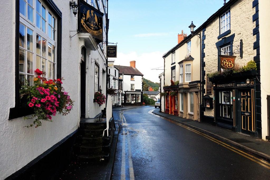 Bridge Street, Llangollen, Wales