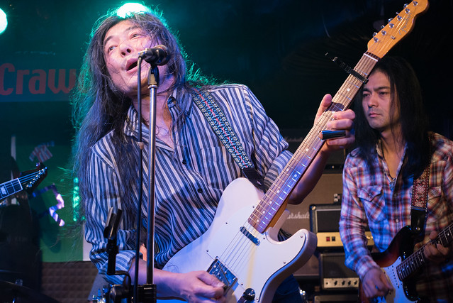 Rory Gallagher Tribute Festival - jam session at Crawdaddy Club, Tokyo, 22 Oct 2016 -00502