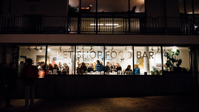 Pet Shop Food Bar opening