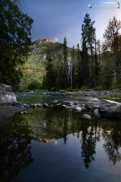 Evening at Icicle Creek