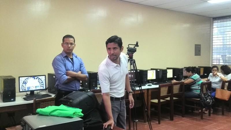 Capacitación en UNAN MANAGUA TICOLAB