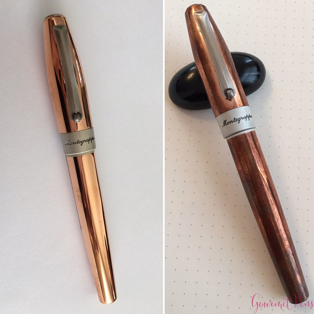 Review Montegrappa Fortuna Copper Mule Fountain Pen @PenChalet @Montegrappa 1912 21