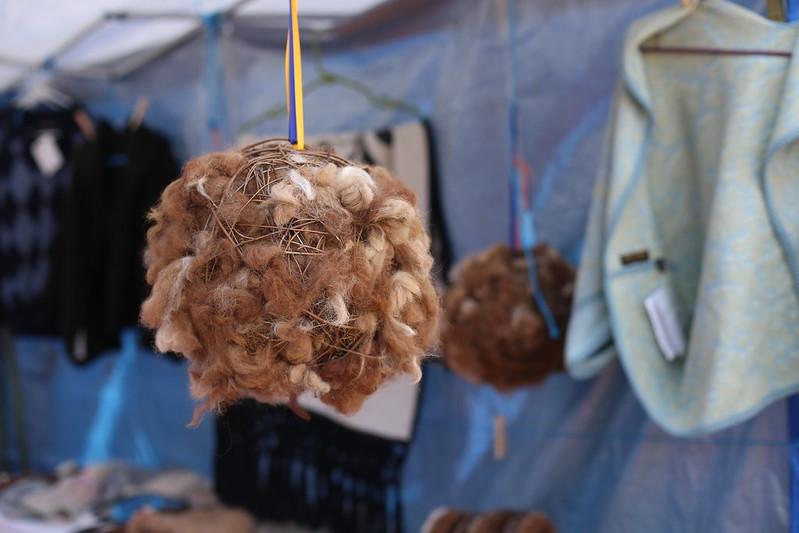 bird nest ball (such a good idea!)