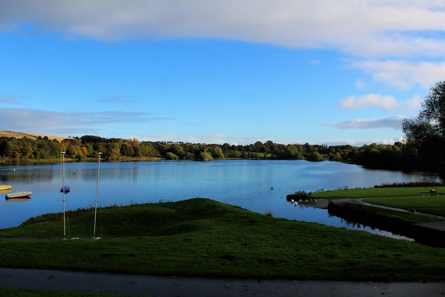 Linlithgow Peel (loch) near Linlithgow Palace. A probable mustering point for Arran's forces.