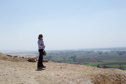Lucia Looking Out From Beni Hasan