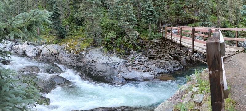 The Second Bridge on the Vallecito Creek Trail