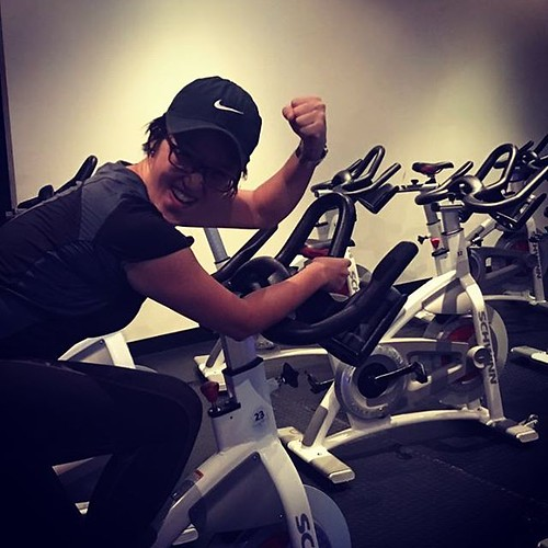 Tales from a #Flycycle neophyte - we came, we rode, we posed. #poser #spinning #cardiofitness #workout