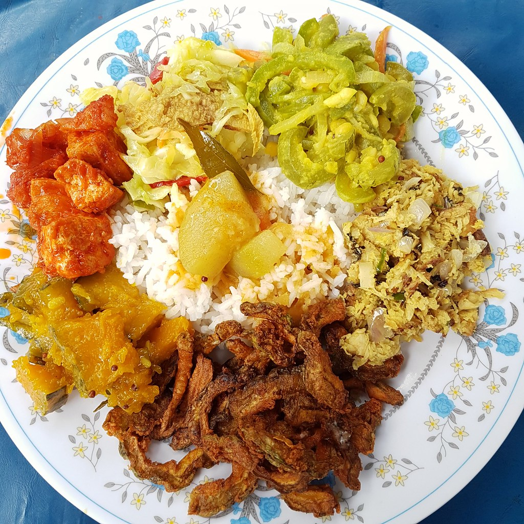 Vegetarian $7 @ Indian Vegetatian at Jalan Mesui KL