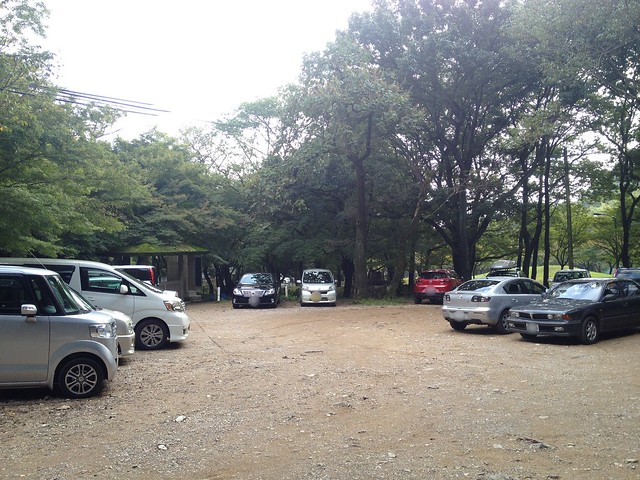 金華山 岩戸公園 駐車場