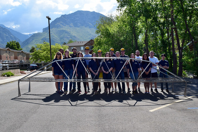 2016 National Student Steel Bridge Competition
