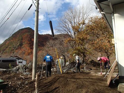 台風10号被災 岩手県岩泉町で災害ボランティア(ボランティアチーム援人 1111便)