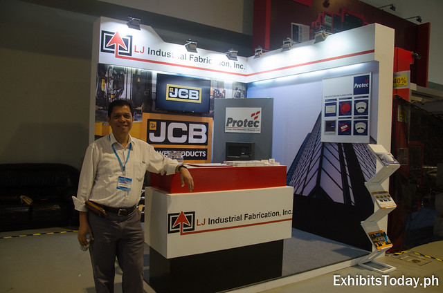LJ Industrial Fabrication Inc. Exhibit Booth