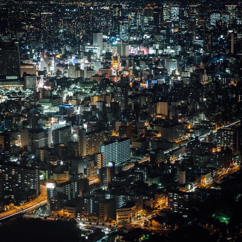 大阪夜景 Harukas 阿倍野|大阪夜景 Osaka