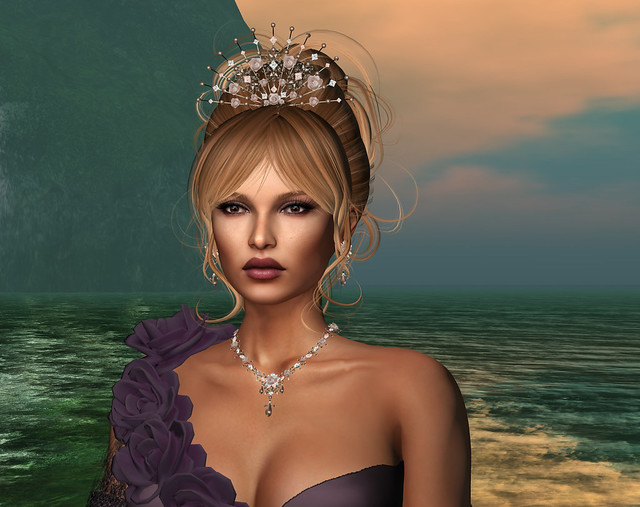 Only You Rose - Champagne/ Bronze, Zuri Jewelry + Birth Skin applier Willow @ Epiphany