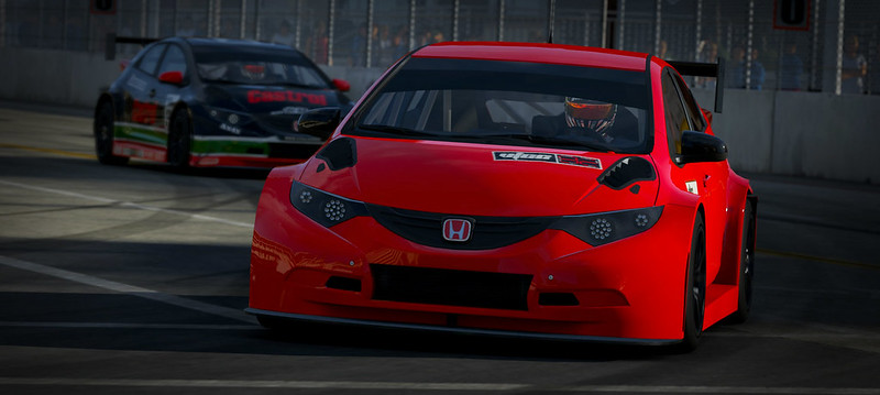 VTCC Spec Series 10 - #5 Zengo Motorsports Honda Civic WTCC 31254210085_e72a94e2da_c