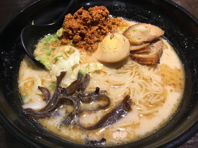 Spicy pork ramen - Ajisen Ramen