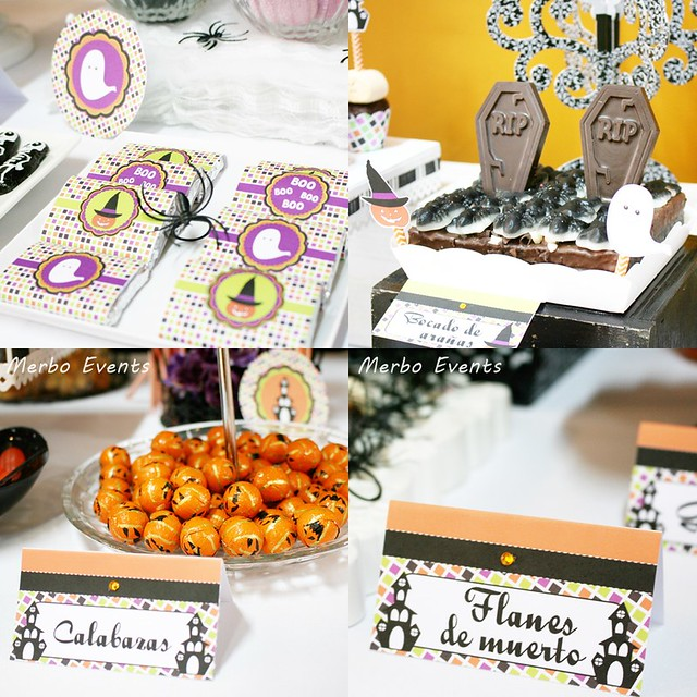 Dulces mesa Halloween 2016 Merbo Events