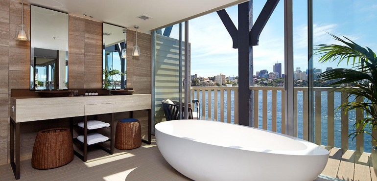 Admiral Suite at the Pier One Sydney Harbour Hotel