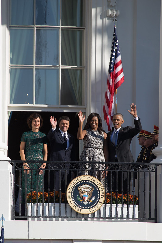 Prime Minister Renzi at the White House