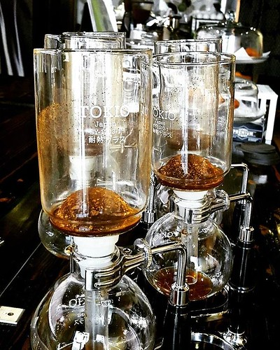 It's a good day for siphon coffee. 🍂☕❤