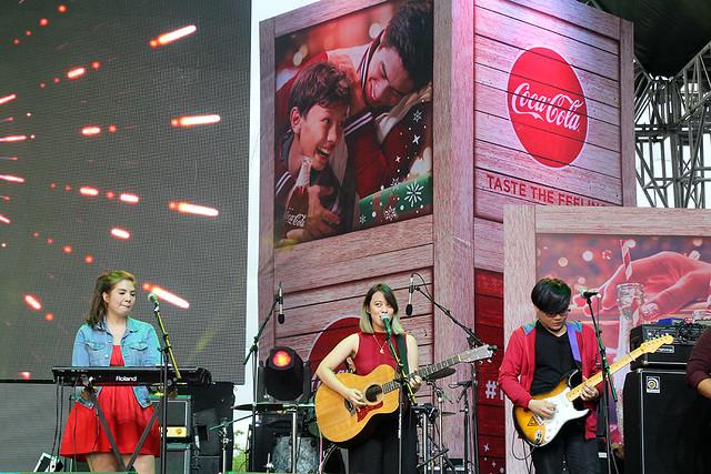 Coke Cola Tagahatid Pasko Christmas Concert Duane Bacon Reese Lansangan