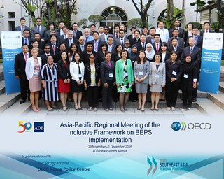 First regional meeting of the Inclusive Framework on Base Erosion and Profit shifting (BEPS) in the Asia-Pacific region