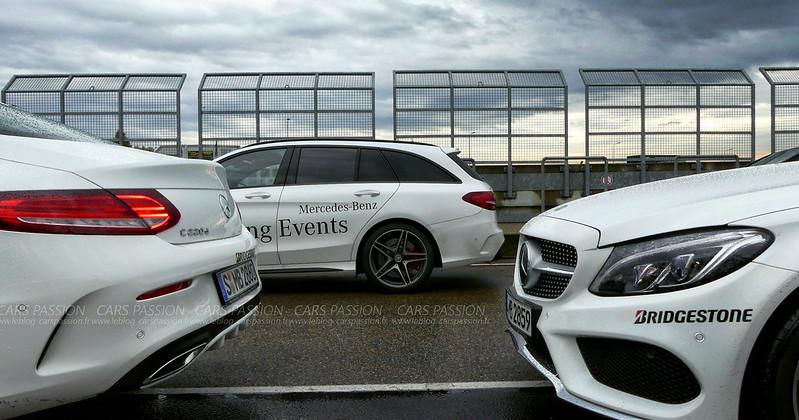 Mercedes Driving Event avec Bridgestone en Allemagne sur le circuit de Sachsenring